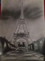 Eiffel Tower by Lauren180
