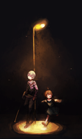 A Light in the Dark by ippotsk