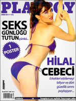Hilal Cebeci Playboy Cover by AY-Deezy