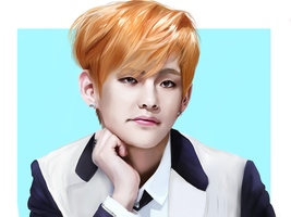 kim Taehyung by Cosmicpens