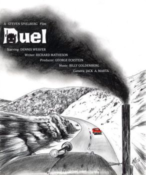 The `DUEL' Poster by Vijay-Artman