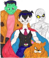 Monsters in color by sdavis7294