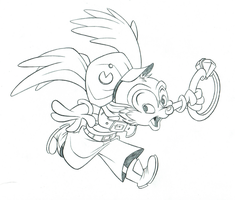Klonoa, Bluth Style! by XnotEX