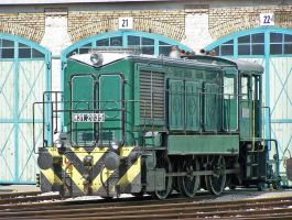 M31 2035 in Budapest Railway Museum by morpheus880223