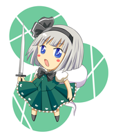 Youmu by keterok