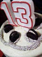 my 13 is cookies in cream. by madasrabbitsLV