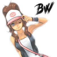 New BW Pokemon Trainer Girl by Cessa