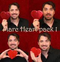 Marc and the red heart by SolStock