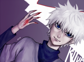 Killua Zoldyck by SenlitheringMe