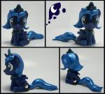 Princess Luna Filly head turner sculpture 2 by MadPonyScientist