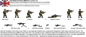 [JG] FAU (Franco-Albion Union) Infantry [1945/46] by EddieKenz
