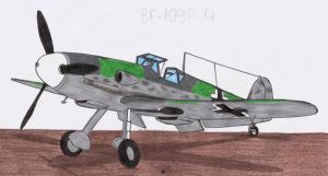 Bf-109F-4 scrap by DingoPatagonico