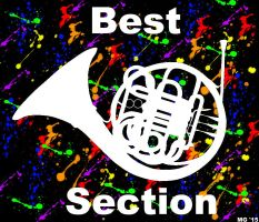 French Horns For Best Section! by TimeLordBeelzenef