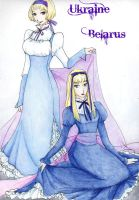 The Russian Sisters by Feliks-Grell