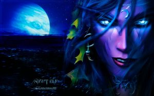 NIGHT ELF (WoW) by CSuk-1T