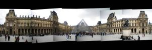 Louvre collage by Deeeemz