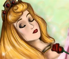 Sleeping Beauty- redo by AnnieIsabel
