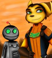 Ratchet and Clank by ReveLeViFleur