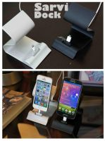 Sarvi dock------Best charging dock for smart phone by luwe2009