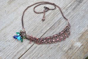 'Nobody's Perfect' Necklace by twistedjewelry