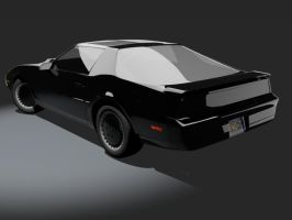 Knight Rider Trans Am - back by wannabegeorge