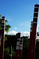 Interesting Pole Structures by CuriouserX10