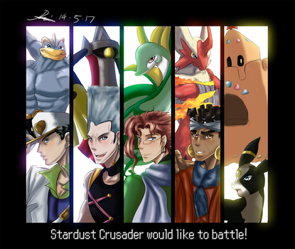 ..:.:: Stardust Crusader Would Like to Battle ::.: by Hebigami-Okami-77