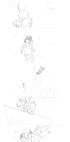 HUNTER STARTLED THE WITCH -L4D by TechnoRaverCall