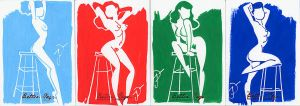 Betty Page Sketchcards Fumisterie by sobad-jee