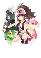 Pokemon white render 2 by IdolPrincess