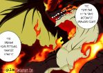 Igneel, the father of Natsu. by MapleColours