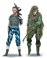 character designs by zombieless