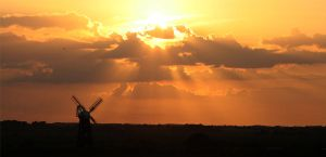 Windmill Sunset by RachelP16