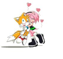 Amelia and Tails by Emm456