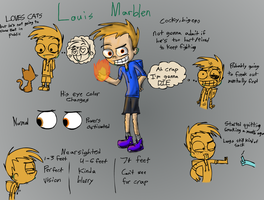 aOCT- Louis Marblen -BIG REF- by Catmaniac8x