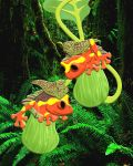 Clown Tree Frogs by FauxHead
