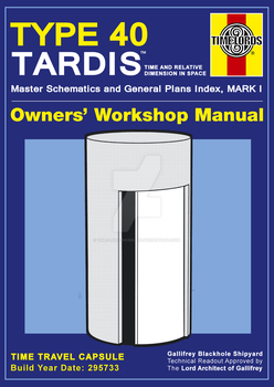 TARDIS Master Schematics Soft Cover (Haynes Ver.) by Time-Lord-Rassilon