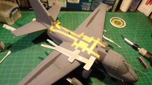1/48 Scale S-3GC Viking Progress (walkway) by Coffeebean2