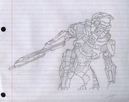 Halo 4 by DirtyPaws13