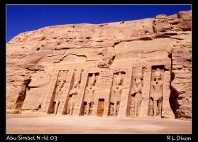 Abu Simbel by richardldixon