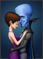 Megamind and Roxanne by JenL