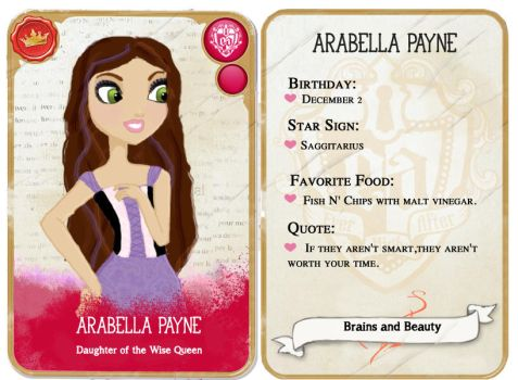 Arabella Payne-Ever After High oc by emily-corene