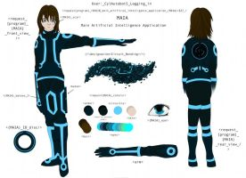 MAIA Reference Sheet by Cylinder-the-Autobot