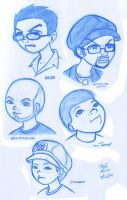 Internet Personalities... by X-Cross