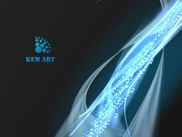 kem Art _ Energy Ray Wallpaper by iKem06