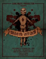 March 2010 Gig Poster by lucero