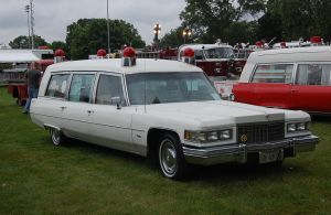 1976 caddy ambulance by JDAWG9806
