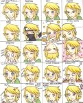 Link's Many Expressions by FREAKY-female