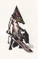 Pyramid Head by SocialDeception