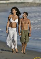 Brooke Burke beach walk by lowerrider